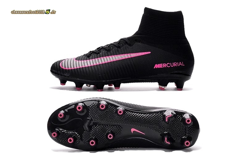 Buy Chaussure Nike Mercurial Superfly V AG Noir Rose - Meilleur Chaussures de Foot
