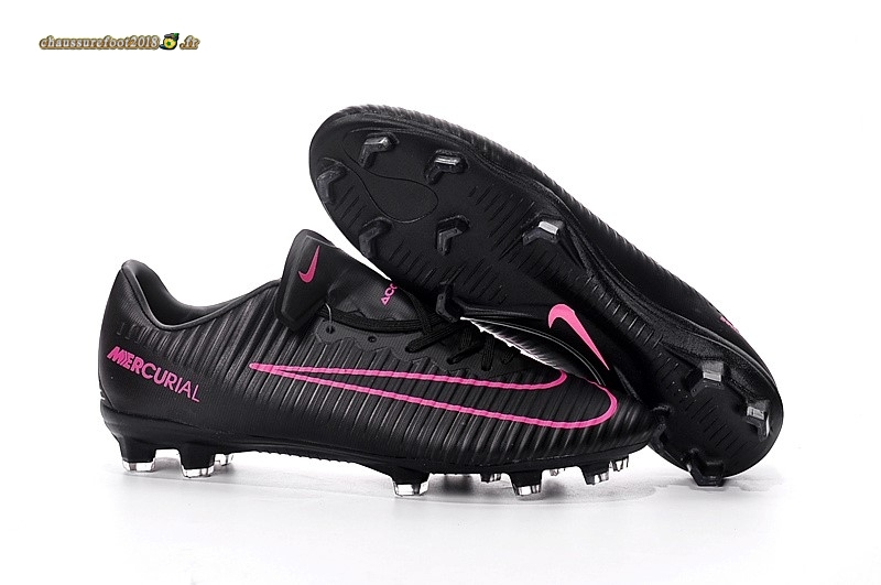 Offres Chaussure Nike Mercurical Victory VI TPU FG Noir Rose Pas Cher