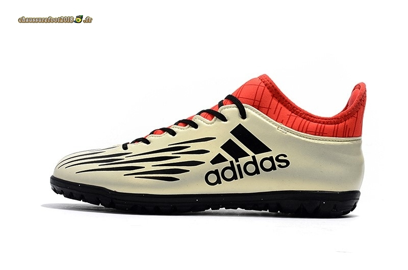 Personnaliser Chaussure Adidas X 16.3 Purechaos Champagne TF