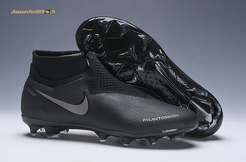 Buy Chaussure Nike Phantom VSN Elite DF FG Noir Gris En Solde