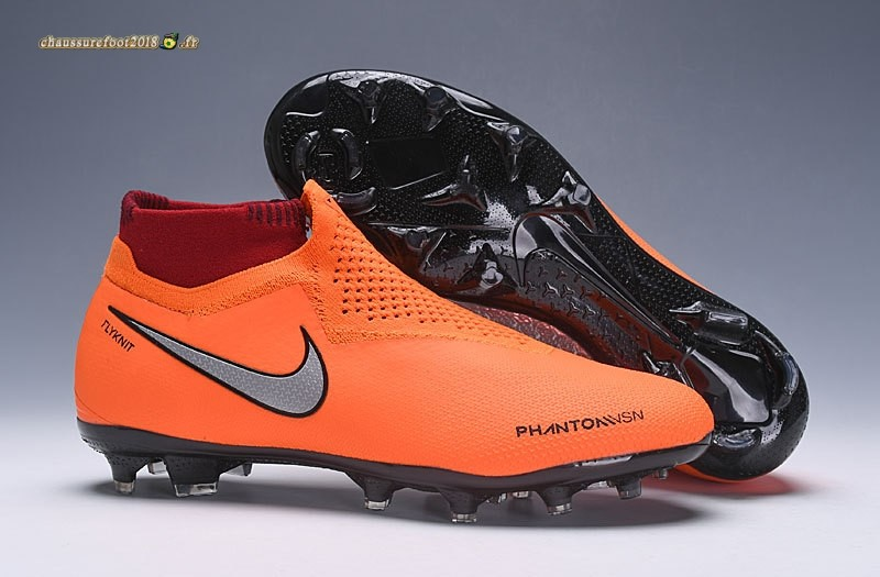 Buy Chaussure Nike Phantom VSN Elite DF FG Orange - Chaussures de Foot