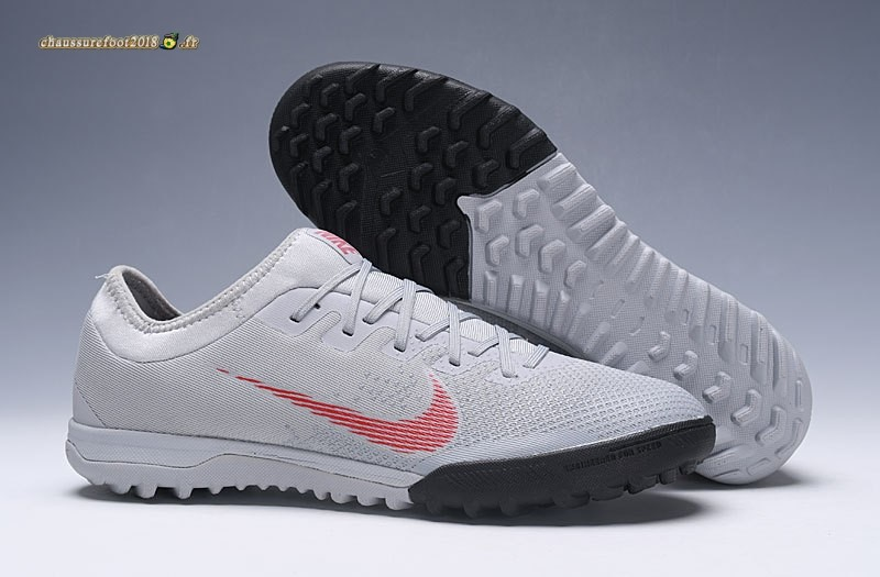 Site Crampons Foot - Chaussure Nike Mercurial VaporX VII Pro TF Blanc - Meilleur Chaussures de Foot