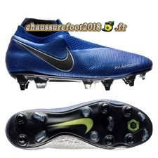 Buy Chaussure Nike Phantom Vision Elite DF SG PRO Bleu - Crampon de Foot
