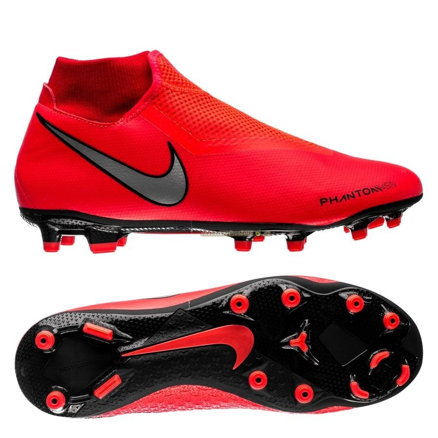 Acheter Chaussure Nike Phantom Vision Academy DF MG Game Over Rouge - Crampon de Foot