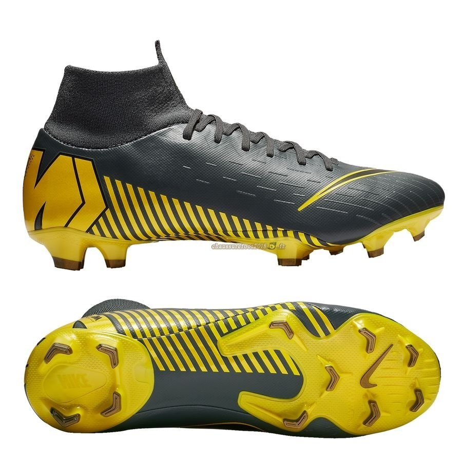 Buy Chaussure Nike Mercurial Superfly 6 Pro FG Game Over Noir Jaune - Chaussures de Foot
