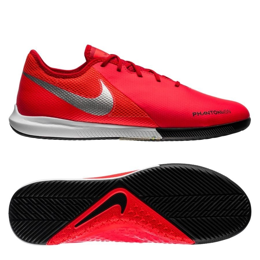 Buy Chaussure Nike Phantom Vision Academy IC Game Over Rouge Argent - Chaussures de Foot