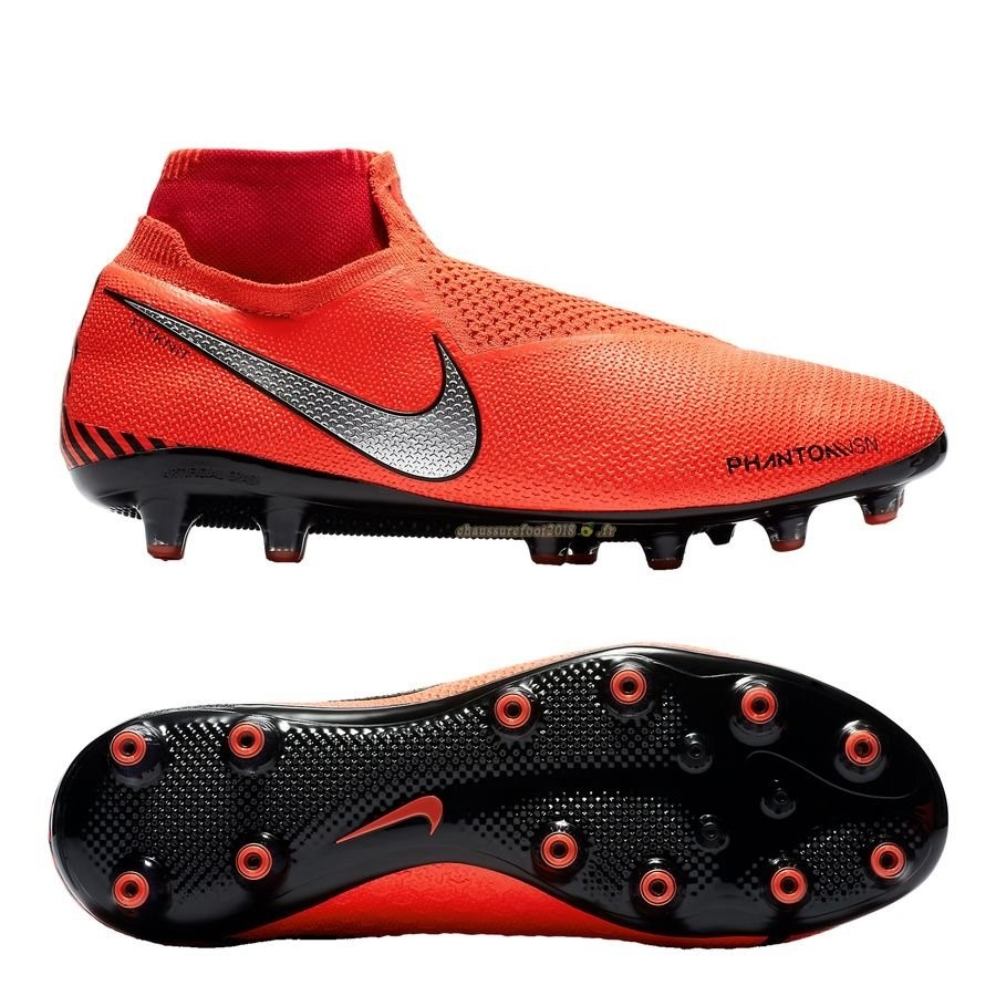 Buy Chaussure Nike Phantom Vision Elite DF AG PRO Game Over Orange En Solde