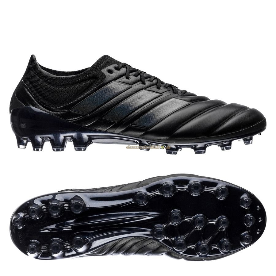Chaussure Foot Promo - Chaussure Adidas Copa 19.1 AG Archetic Noir Pas Cher