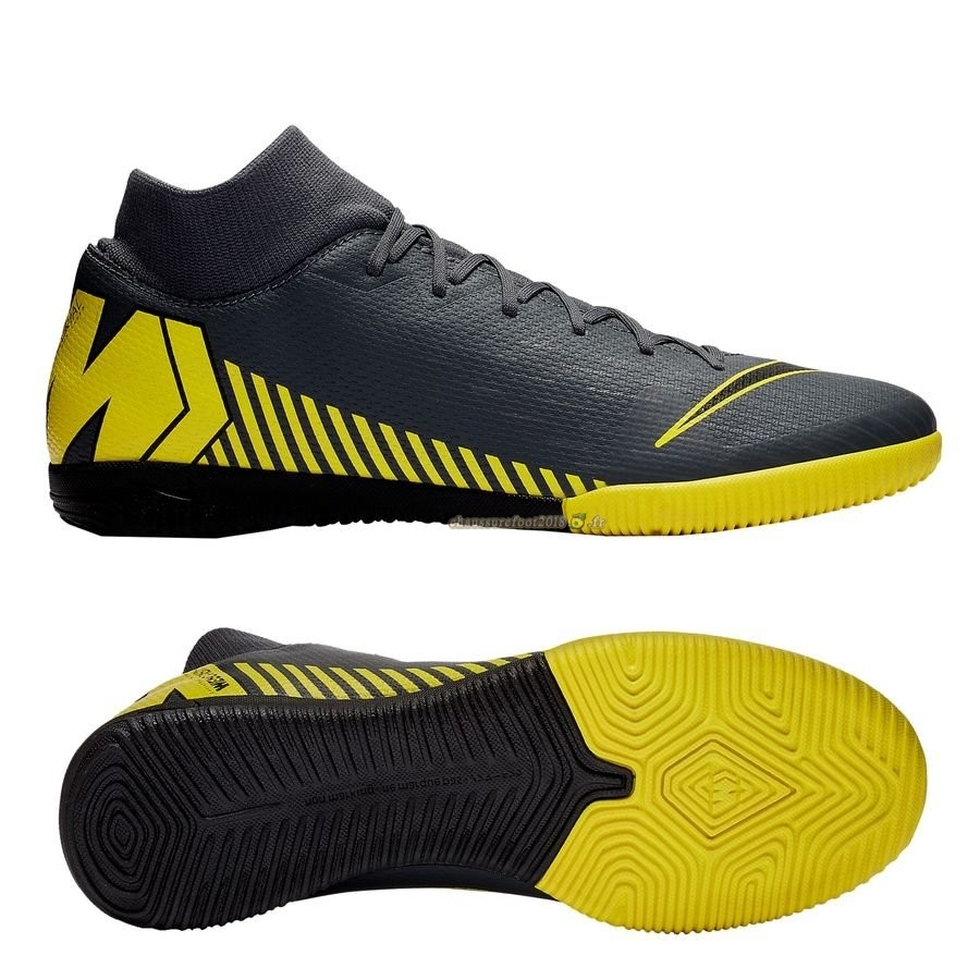 Offres Chaussure Nike Mercurial Superfly 6 Academy IC Game Over Noir Jaune En Solde