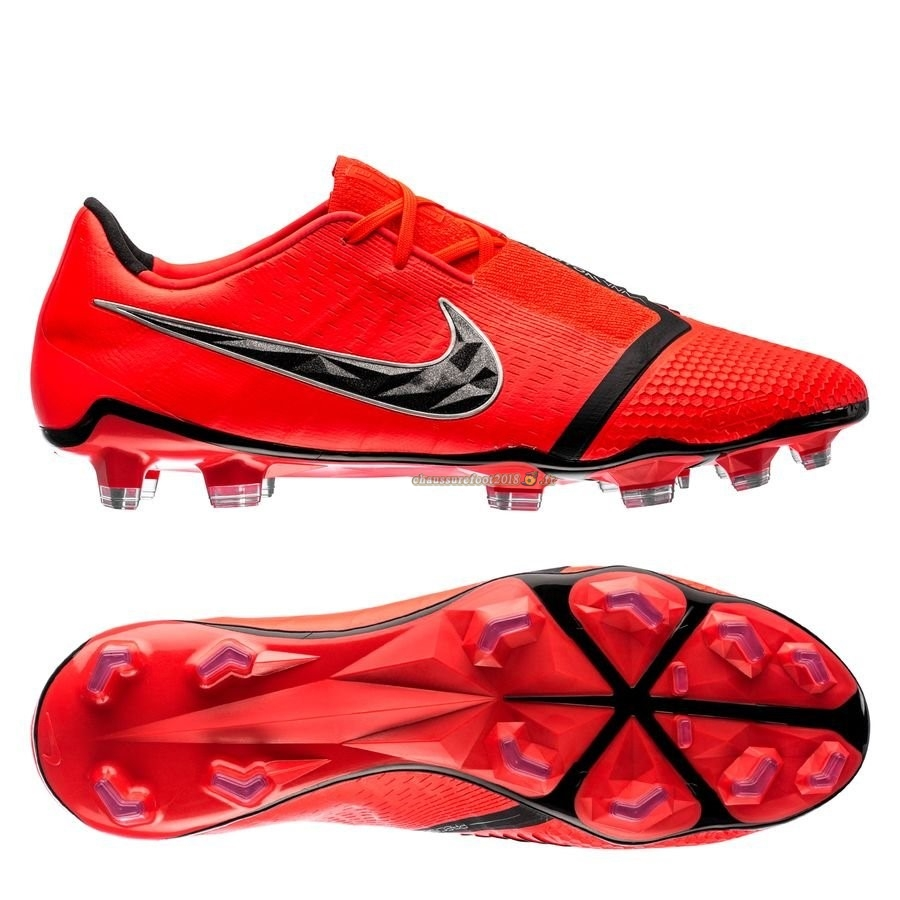 Site Crampons Foot - Chaussure Nike Phantom Venom Elite FG Game Over Rouge - Meilleur Chaussures de Foot