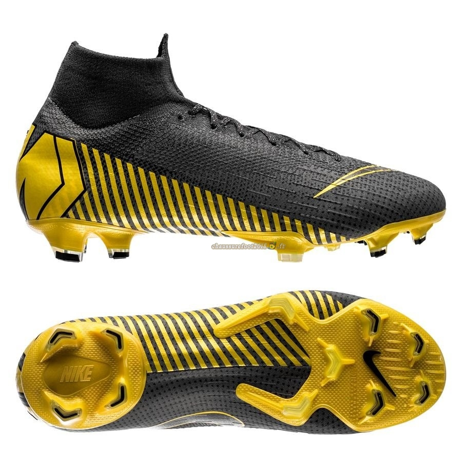 Trouver - Chaussure Nike Mercurial Superfly 6 Elite FG Game Over Gris Jaune - Chaussures de Foot