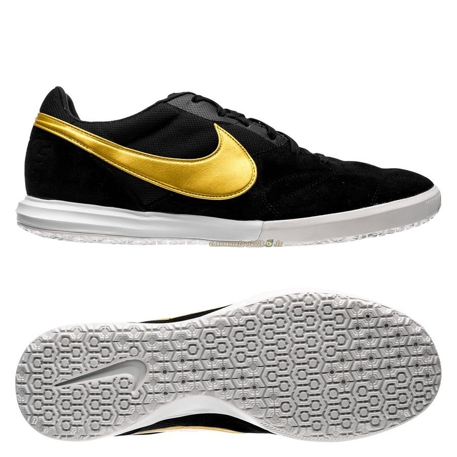 Trouver - Chaussure Nike Premier II Sala IC Noir Or - Chaussures de Foot
