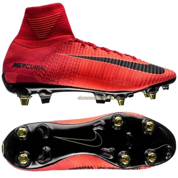 Buy Chaussure Nike Mercurial Superfly SG Pro Anti Clog Rouge Chaussure de Foot Salle