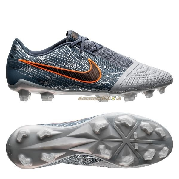 Hot Chaussure Nike Phantom Venom Elite FG Victory Gris - Crampon de Foot