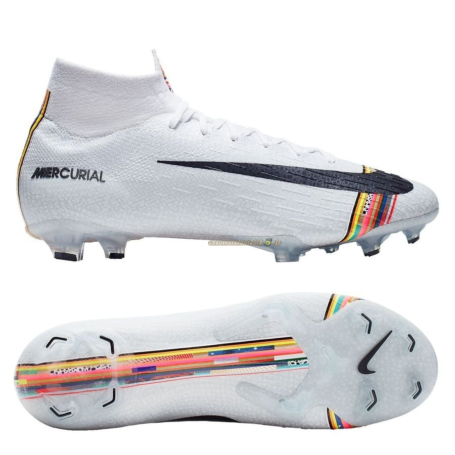 Remise Chaussure Nike Mercurial Superfly 6 Elite FG LVL UP Blanc En Solde