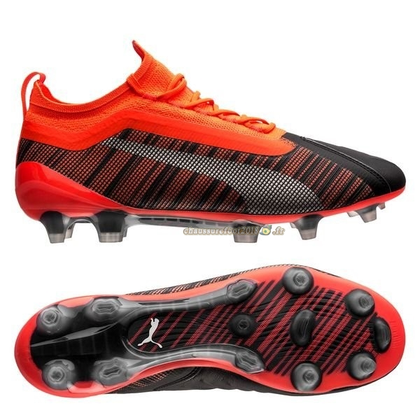 Buy Chaussure Puma One 5.1 FG/AG Rouge Chaussure de Foot Salle