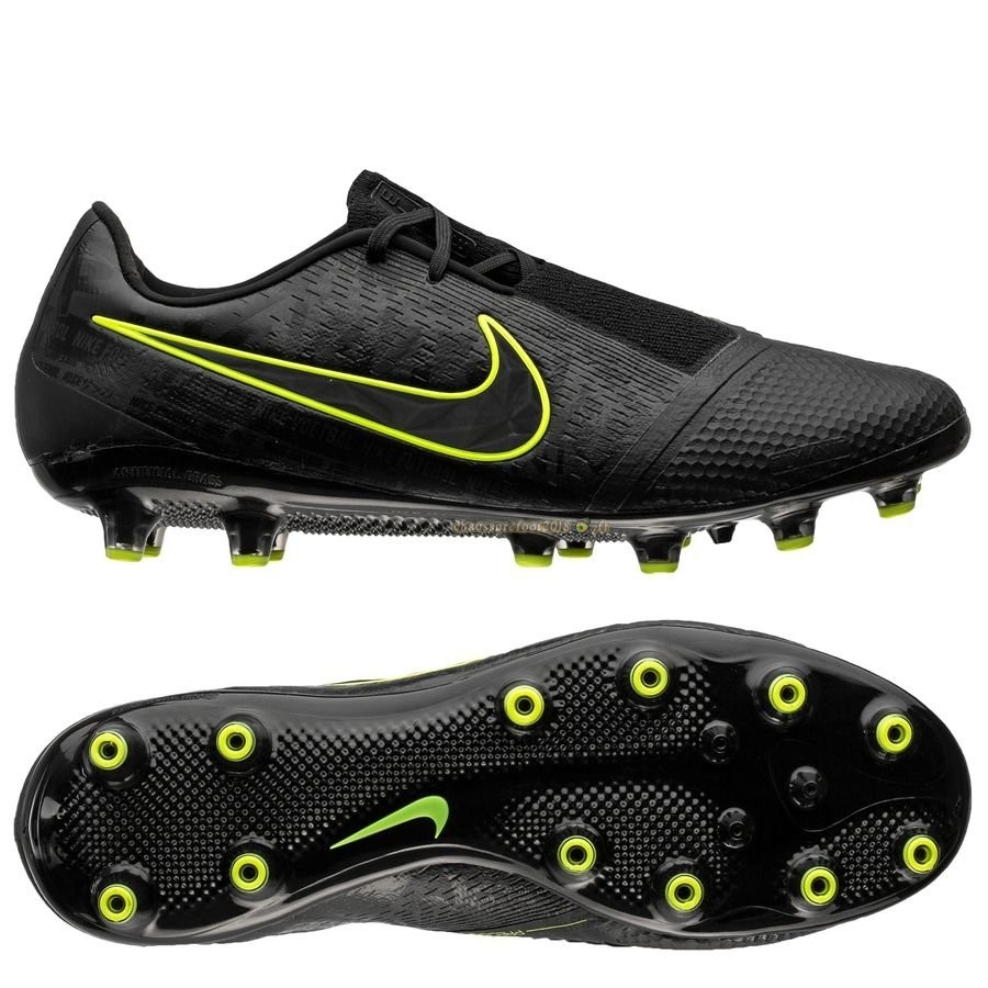 Hot Chaussure Nike Phantom Venom Elite AG PRO Noir - Crampon de Foot