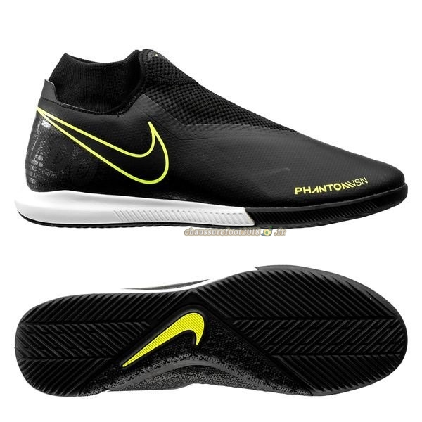 Hot Chaussure Nike Phantom Vision Academy DF IC Noir - Crampon de Foot