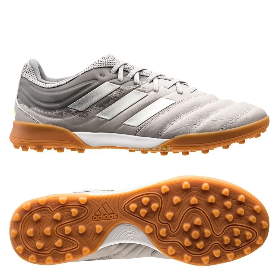 Acheter Chaussure Adidas Copa 20.3 TF Encryption Gris Chaussure de Foot Salle