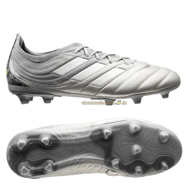 Chaussure Foot Promo - Chaussure Adidas Copa 20.1 FG/AG Encryption Blanc - Meilleur Chaussures de Foot