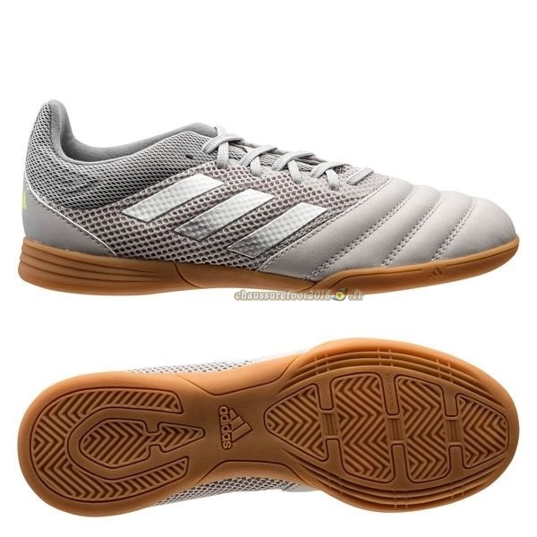Offres Chaussure Adidas Copa 20.3 Sala IN Encryption Gris Brun Chaussure de Foot Salle