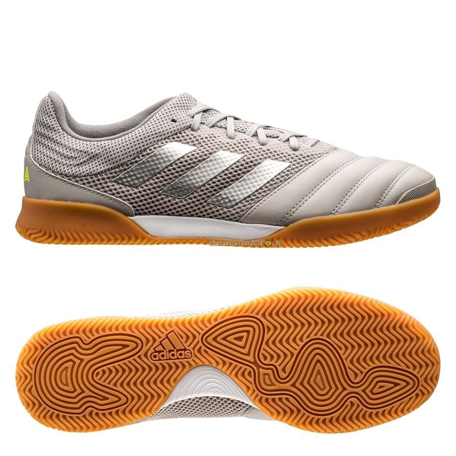 Personnaliser Chaussure Adidas Copa 20.3 Sala IN Encryption Gris En Solde