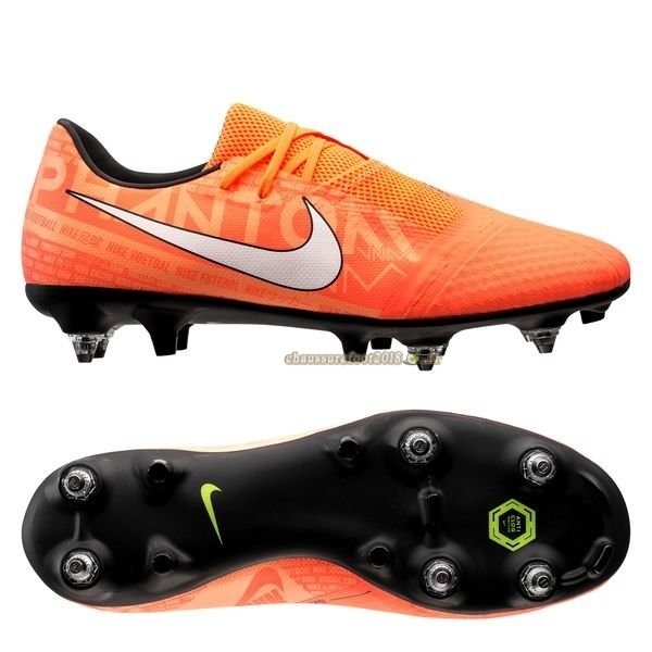 Site Crampons Foot - Chaussure Nike Phantom Venom Academy SG PRO Fire Orange En Solde
