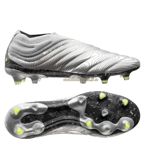 Trouver - Chaussure Adidas Copa 20+ FG/AG Encryption Argent Chaussure de Foot Salle
