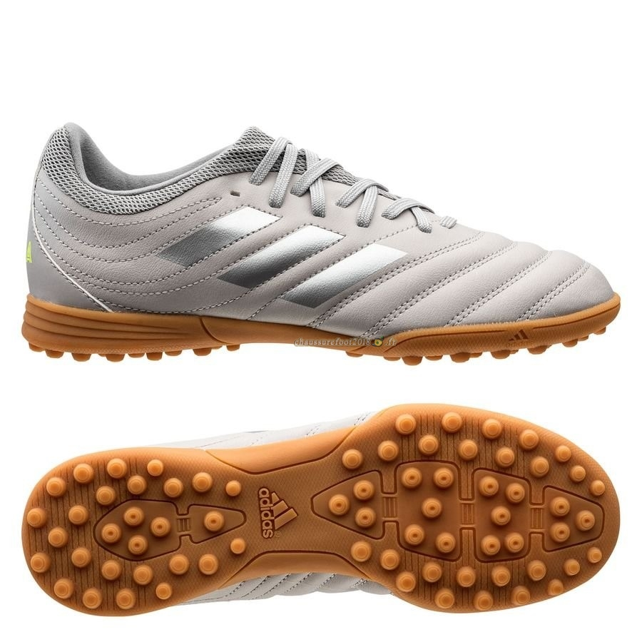 Vente Chaussure Adidas Copa 20.3 TF Encryption Gris Brun - Chaussures de Foot