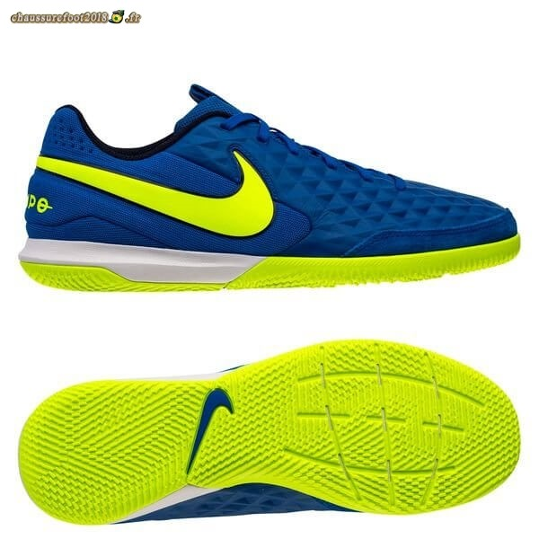 Offres Chaussure Nike Tiempo Legend 8 Academy IC Skycourt Bleu Volt - Chaussures de Foot