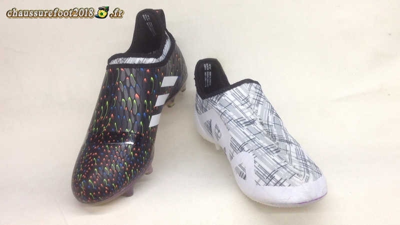 best sneakers 6cb9b 2dc5b ... Chaussure Foot Promo - Chaussure Adidas Glitch Skin 17 FG Noir  Multicolore - Chaussures de Foot ...