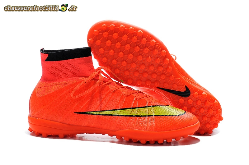 Chaussures de Foot - Chaussure Nike Elastico Superfly TF Rose - Meilleur Chaussures de Foot