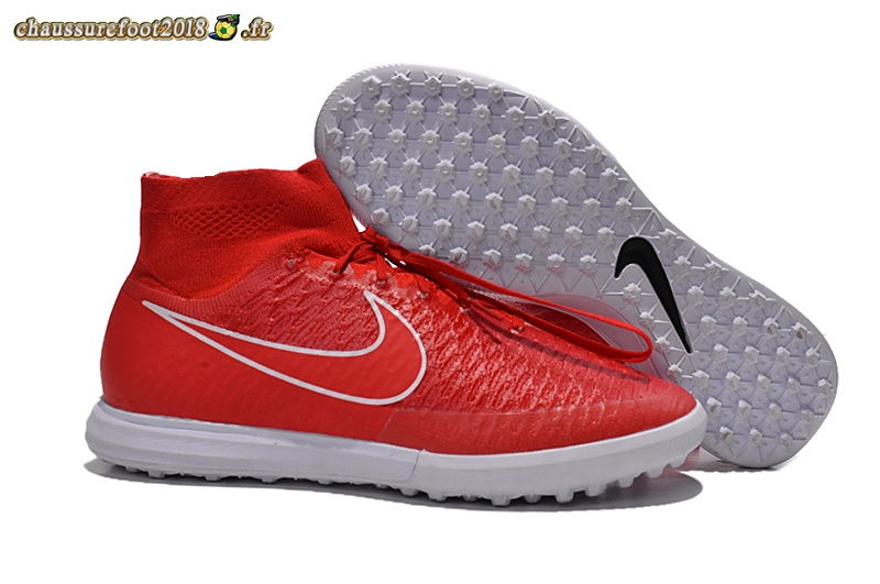 Chaussures de Foot - Chaussure Nike MagistaX Proximo TF Rouge En Ligne