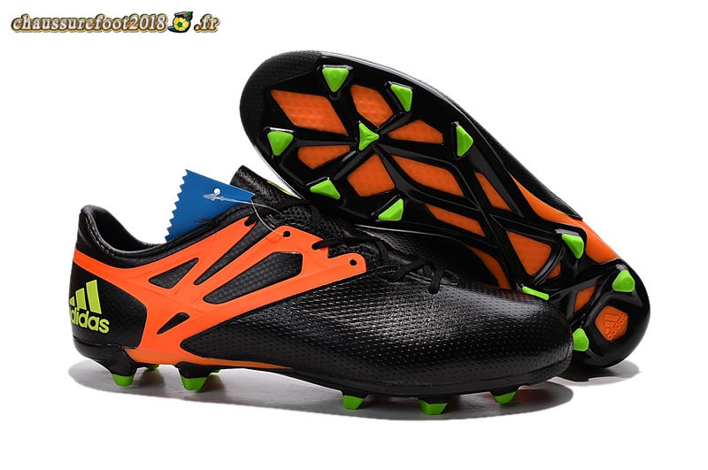 3 Noir Orange 15 Destockage De Messi Crampon Fg Adidas Chaussure TPBgqwU