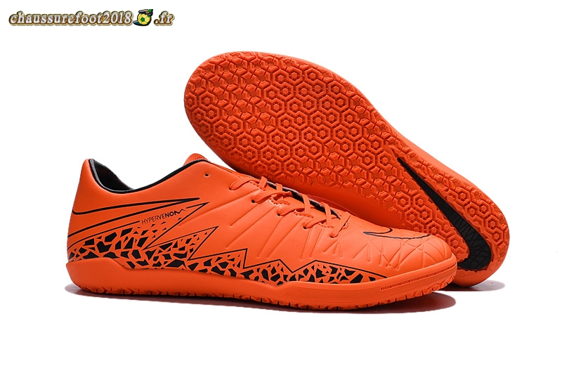 Destockage - Chaussure Nike HyperVenom Phelon II INIC Orange En Ligne