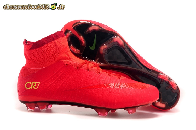 Mercurial Superfly Fg Rouge Destockage Cr7 Chaussure Nike nwkO80P