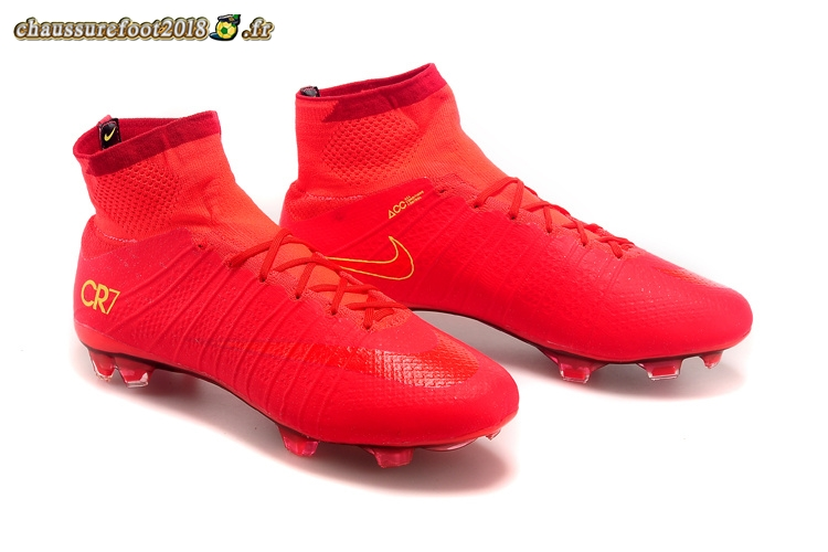 Fg Mercurial Rouge Chaussure Superfly Nike Destockage Cr7 29WHIYeED