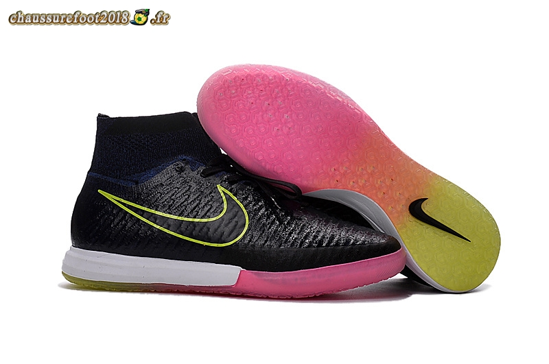 Offres Chaussure Nike MagistaX INIC Noir Rose - Chaussures de Foot