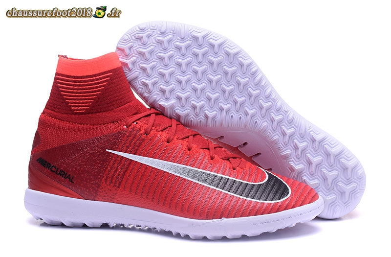 Offres Chaussure Nike MagistaX Proximo II TF Rouge Noir Pas Cher