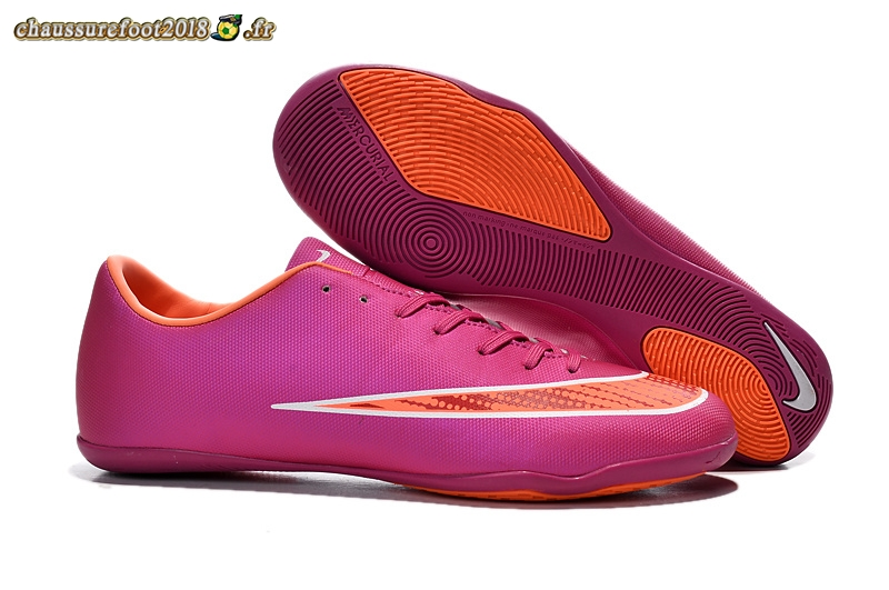 Offres Chaussure Nike Mercurial X Victory INIC Rouge Orange - Meilleur Chaussures de Foot