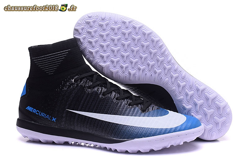 Remise Chaussure Nike MagistaX Proximo II TF Noir Blanc Bleu Pas Cher