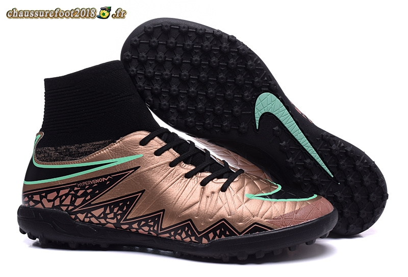arriving unique design the sale of shoes Site Crampons Foot - Chaussure Nike HyperVenom II Alto TF ...