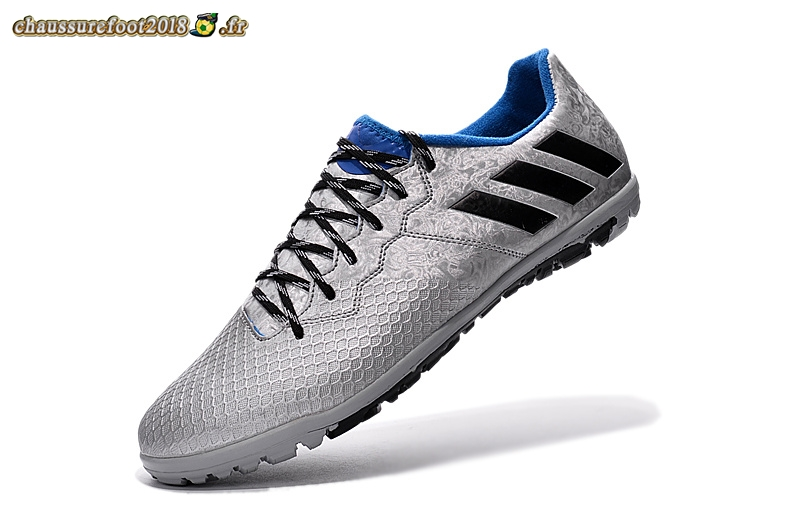 Trouver Chaussure Adidas Messi 16.3 TF Argent Noir