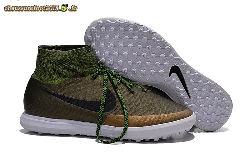 Trouver - Chaussure Nike MagistaX Proximo TF Pardo Vert - Crampon de Foot