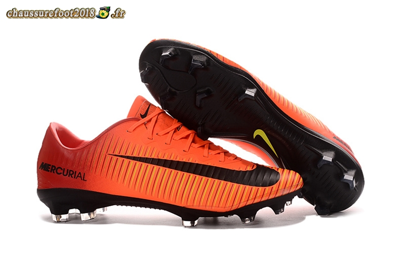 Trouver - Chaussure Nike Mercurial XI FG Orange - Chaussures de Foot
